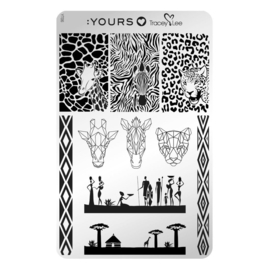 Yours Cosmetics - Stamping Plates - :YOURS Loves Tracy Lee - YLT06. Afridisiac