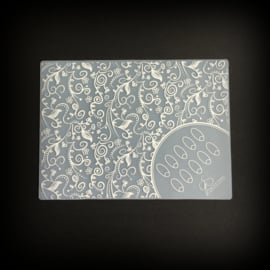 Clear Jelly Stamper - Nail Art Mat - 2. The Tracy