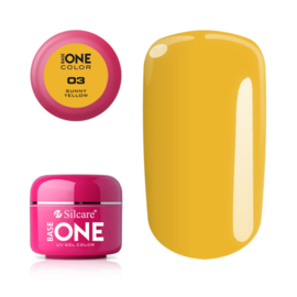 Base One - UV COLOR GEL - 03. Sunny Yellow