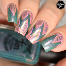 UberChic - Big Nail Stamping Plate - Culture Rich