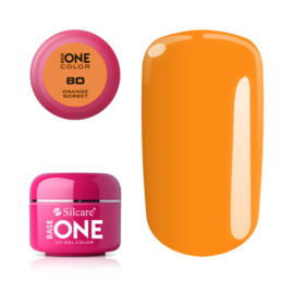 Base One - UV COLOR GEL - 80. Orange Sorbet