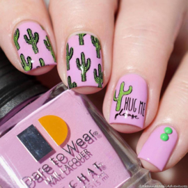 Lina - Stamping Plate  - Express Your Nails! - 01