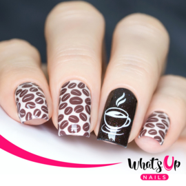Whats Up Nails - Stamping Plate - B007 Sugar High