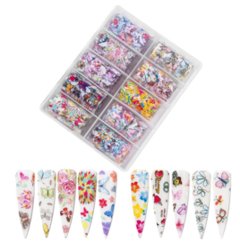Nailways - Transfer Nail Foil - Collection 15