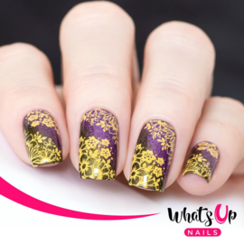 Whats Up Nails - Stamping Plate - B037 Growing Beauty