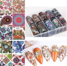 Nailways - Transfer Nail Foil - Collection 1