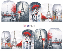 Waterdecals -  Rain in Paris - BN375