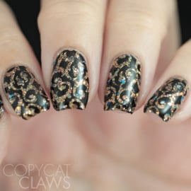 UberChic Beauty - Nail Art Stamping Plates – Collection 20