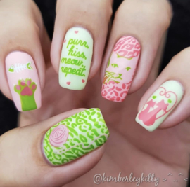 Clear Jelly Stamper - Stamping Polish Kit - Summer Starter (4 Colours)