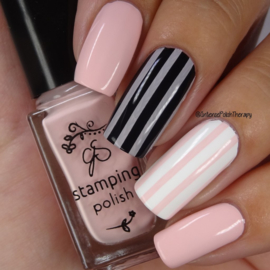 Clear Jelly Stamper Polish - #88 Pretty in Pink