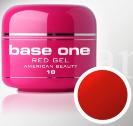 Base One - UV RED GEL - 18. American Beauty