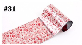 Exclusieve Foil #31 - Red Roses
