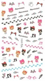 Waterdecals - Kitty Cats
