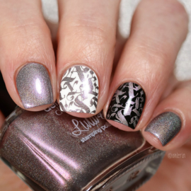 Lina - Stamping polish - Dark Beauty