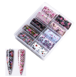 Nailways - Transfer Nail Foil - Collection 9
