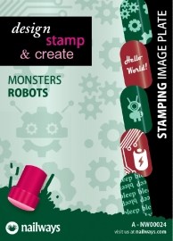 Nailways - Monsters - 24. Robots