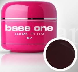 Base One - UV MARSALA GEL - 87. Dark Plum