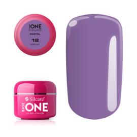 Base One - UV COLOR GEL - Pastel - 12. Violet