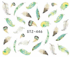 Waterdecals - Spring Feathers