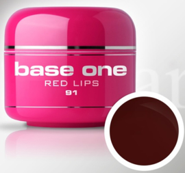 Base One - UV MARSALA GEL - 91. Red Lips
