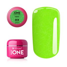 Base One - UV COLOR GEL - Neon - 23. Fresh Green