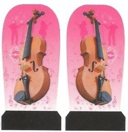 Whole Nail Waterdecal -  Music Maestro