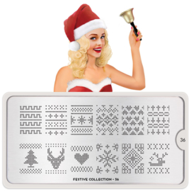 MoYou London - Stamping Plate - Festive 36