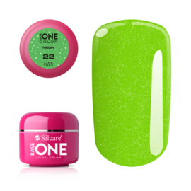 Base One - UV COLOR GEL - Neon - 22. Lime Tree