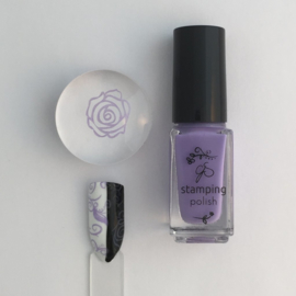 Clear Jelly Stamper Polish - #25 Perry-Wink-le
