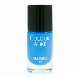 Colour Alike -  Stamping Polish - 40B. A COBALT KICK