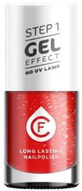 CF Gel Effekt Nagellak - Step 1 - 212.  Ripe Strawberry