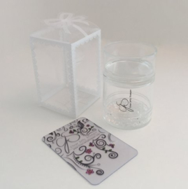 Clear Jelly Stamper - The Big Bling XL Stamper - Clear
