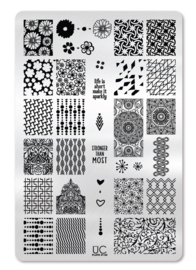 UberChic Beauty - Nail Art Stamping Plates – Collection 21