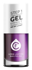 CF Gel Effekt Nagellak - Step 1 - 314. Purple Metallic