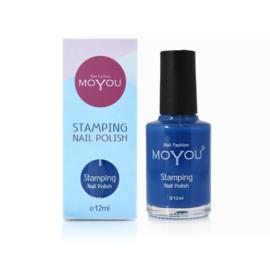 Moyou Nail Fashion - Stamping Polish - 39. Blue
