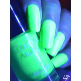 Colour Alike -  Nail Polish - Neon goes Plastic - 605. Electric Green