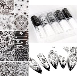 Nailways - Transfer Nail Foil - Collection 4