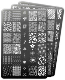 UberChic Beauty - Nail Art Stamping Plates – Collection 27