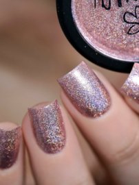 Lina - Pixiedust - Holo-Glitter Powder - Chilled rose
