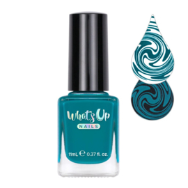 Whats Up Nails - Stamping polish - WSP026. Not a Big Teal