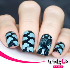 Whats Up Nails - Stamping Plate - B014 Magical Playground