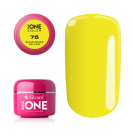 Base One - UV COLOR GEL - 75. Sunflower Yellow