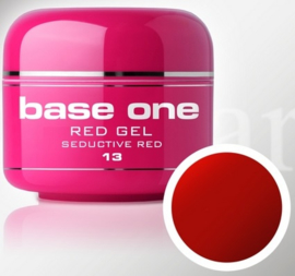 Base One - UV RED GEL - 13. Seductive Red