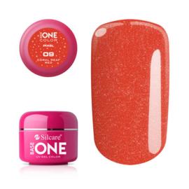 Base One - UV COLOR GEL - Pixel - 09. Coral Real Red