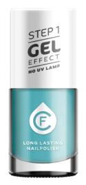 CF Gel Effekt Nagellak - Step 1 - 413. Turqouise