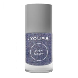 Yours Cosmetics - Stamping Polish - 14. Purple Rainbow