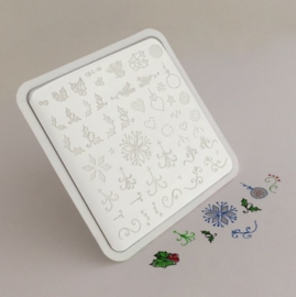 Clear Jelly Stamper - Stamping Plate - CJS_C05 - Wonderfully Winter Christmas