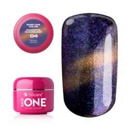 Base One - UV COLOR GEL - Magnetic Chameleon - 04. Topaz Jewel
