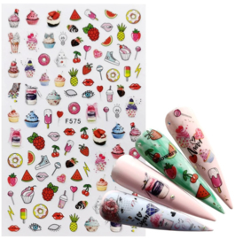 Nailways - Nail Stickers - F575 - Sweets