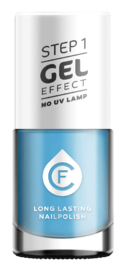CF Gel Effekt Nagellak - Step 1 - 411. Blue Curacao
